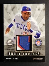 2004 UD Sweet Spot Threads Sammy Sosa -- Patch -- 23/85