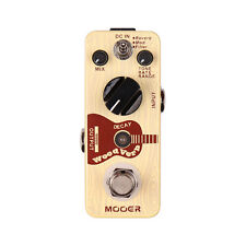 New MOOER WoodVerb Reverb Pedal 3 Reverb Modes: Reverb/Mod/Filter True bypass