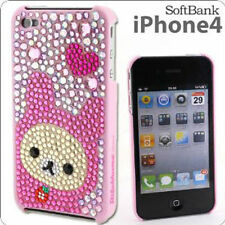 San-X Rilakkuma Rhinestone Cover for iPhone 4 (Korilakkuma) CS96901