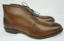 Allen Edmonds Williamsburg Coffee Brown Chukka Boots Size 10.5 D