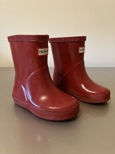 Hunter Wellies Infant Size 4