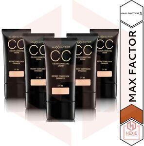 Max Factor - CC Colour Correcting Cream 30ml with SPF10 - * Various Shades *