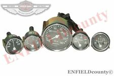 COMPLETE METER KIT SPEEDOMETER +TEMP+OIL+FUEL+AMP GAUGES KIT WILLYS JEEP @CAD