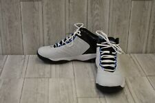 AND1 Drive Basketball Sneakers, Men's Size 11, White/Black/Blue