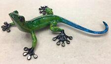 "Tim Cotterill, Frogman: ""Margarita"" Gecko Sculpture, Beautiful Colors"
