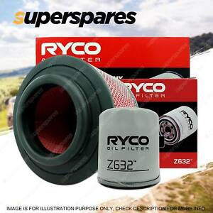 Ryco Oil Air Filter for Mazda Bt50 DX 4cyl 3L 2.5L Turbo Diesel WE-AT WL-AT