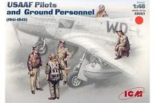 ICM 48083 1/48 USAAF Pilots and Ground Personnel 1941 - 1945