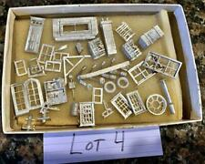 HO Fine Scale Miniatures, Scale Structures Parts Metal detailing LOT #4