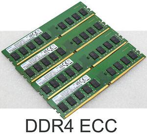 16 GB DDR4 ECC SPEICHER RAM SAMSUNG M391A1K43BB1-CRCQ FUJITSU TX1320 M3 M4 MEM2