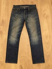 Levi's 501 Blue Jeans Straight Leg Regular Fit W34 L32