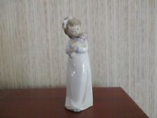 """Nao by Lladro Figurine """"Girl with Doll"""""""