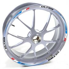 AUEN Sticker wheel Rim Honda silver Integra DCT Blue Red strip tape vinyl adhesi