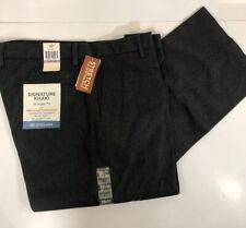 NWT Levi's Dockers Signature Khaki 38x32 Straight Fit Gray Flat Front Pants
