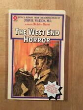 Sherlock Holmes - The West End Horror - Coronet Books - 1977 - TBE