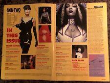 Skin Two Magazine #22 *Cover Missing* Fetish Fashion Latex Rubber BDSM UK 1997