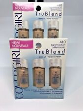Lot of 4 CoverGirl TruBlend Make up Flawless Coverage  410 Light Medium Lot of 4