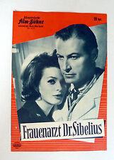 IFB #6135 - Frauenarzt Dr. Sibelius * LEX BARKER - FILMPROGRAMM - MOVIE-PROGRAM