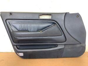 90-93 Accord 4DR Sedan Left Front Door Panel Lining Blue Used OEM