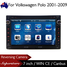 "7"" Car DVD Nav GPS Head Unit Stereo Radio For Volkswagen Polo 2001-2009"