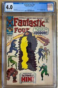 Fantastic Four 67 CGC 4.0