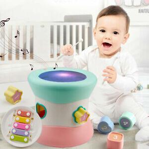 Baby Spielzeug für Kleinkind und Baby, Xylophone und Trommel Musik Spielzeuge