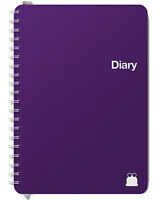 Mid Year 2018-2019 Diaries Week View & Day to Page, 2 days Per Page | A5 & A4 |