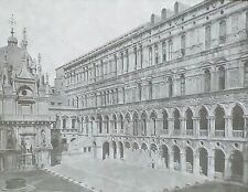 Ducal Palace Court, Venice, Italy, Magic Lantern Glass Slide