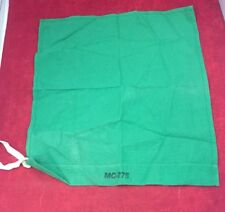 """One New Combat Vehicle Signal Flag Green Cotton Bunting MC-275 18""""x16"""""""
