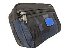 New TUMI McGuire Travel Kit * Toiletry / Accessory Kit * Blue Camo * 2223464BCMO