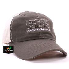 AVERY GREENHEAD GEAR GHG LOGO 2-TONE TWILL HAT BALL CAP OLIVE KHAKI