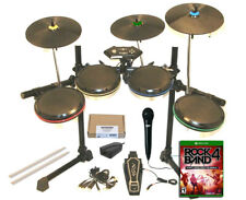 Xbox One ION Drum Rocker Pro-Set*Triple ProCymbals*Wired Legacy Adapter*Mic*Game