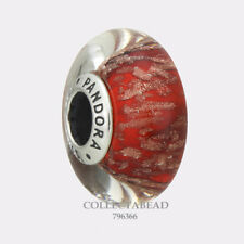 Authentic Pandora Sterling Silver Murano Red Twinkle Bead 796366 *WINTER 2017