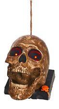 "NEW 9"" Halloween Electronic Skeleton Talking Head"