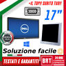 "PC MONITOR SCHERMO LCD 17"" POLLICI (DELL,HP,LG) VGA DVI DISPLAY DESKTOP BUONO!19"