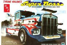 AMT 930 Tyrone Malone's Kenworth Super Boss Drag Truck model kit 1/25