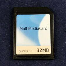 VINTAGE Nokia / Siemens 32 MB Multimedia SD Card - Made in Korea!