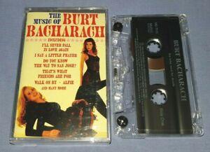 BURT BACHARACH THE MUSIC OF BURT BACHARACH cassette tape album T9081