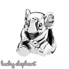 Pandora Genuine ALE 925 Silver Lucky Elephant Charm 791902