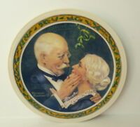 Norman Rockwell Golden Christmas Plate Knowles 1976  3771A Retired
