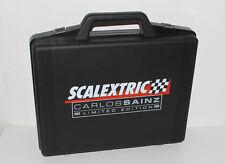 Scalextric Slotcar === für Modellauto === Koffer Carlos Sainz Auto / car