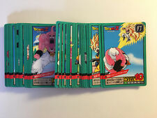 Dragon ball Z Super Battle Power Level PART 12 Reg Set 38/38