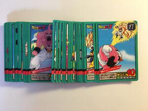 DRAGON BALL CARDDASS BIOLY BOXSET MOVIE Part 2  SET 36 REGULAR CARDS FULL SET