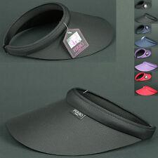 Sunvisor IRO BLACK UV Protect Visor Sun Shade HAT Outdoor Tennins Golf Sports