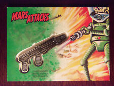 Topps MARS ATTACKS: The Revenge GREEN Medallion Raygun Card #CM-SR (26 of 55)