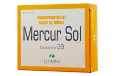Lehning Mercurius Solubilis 80 Tabs Original - UK Stock!