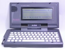 Atari Portfolio Model HPC-004 + Memory Card 128 kb Vintage 1980s WORKS!