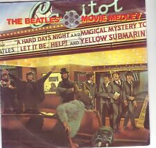 THE BEATLES MOVIE MEDLEY 45 IN PICTURE SLEEVE
