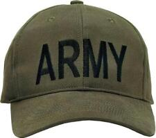 9278 Rothco Army Supreme Low Profile Cap - Olive Drab