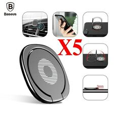 5x Baseus Universal 360° Finger Ring Stand Phone Holder For iPhone Samsung HTC