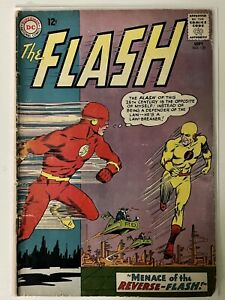 The Flash #139 (Sep 1963, DC) First appearance of Professor Zoom, Reverse Flash.